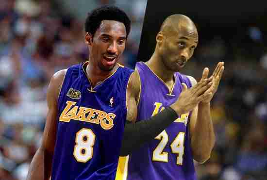 The Los Angeles Lakers retire both numbers of Kobe Bryant