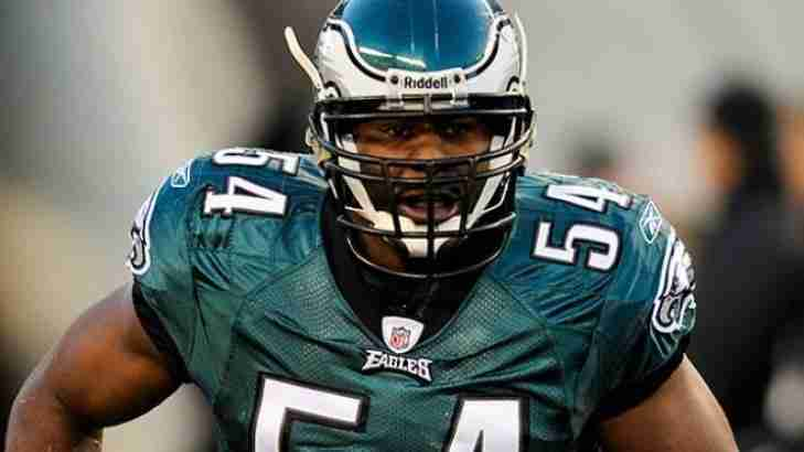 Jeremiah Trotter to the Philadelphia Eagles HOF