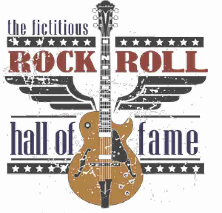 The Finalists are announced for our Fictitious Rock and Roll Hall of Fame!  Vote Now!