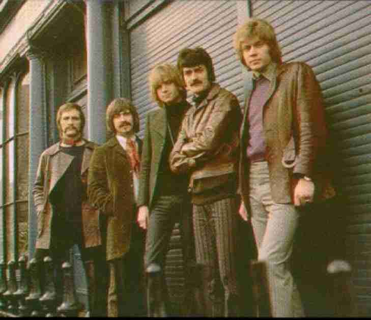 9.  The Moody Blues